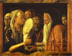 Andrea Mantegna. La Présentation au Temple 1465-1466. Huile sur bois Gemaldegalerie Berlin| DR