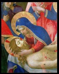 Fra Angelico lamentation sur le Christ mort musée San Marco Florence | DR