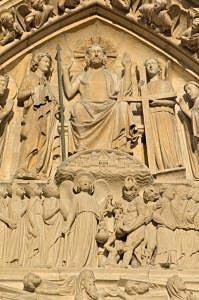 Notre-Dame de Paris tympan Jugement dernier   DR