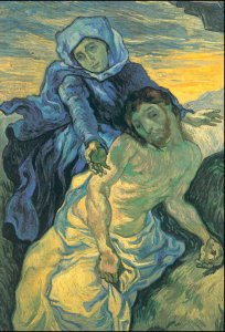 Pieta d'après Delacroix Vincent Van Gogh 1853-1890 DR