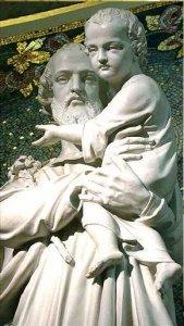 St Joseph et Jésus - rue du Bac