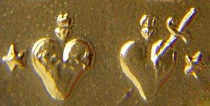 medaille miraculeuse coeurs