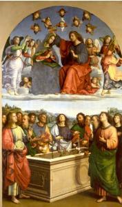 Raphaël - Couronnement de la Vierge - Vatican Pinacothèque 1503 | DR