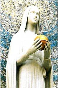 Vierge au Globe Chapelle rue du Bac