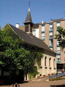 77 rue de Reuilly  Paris 12 - chapelle des Filles de la Charité