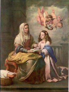 Sainte Anne et la Vierge Murillo 1618-1682 Madrid Prado | DR