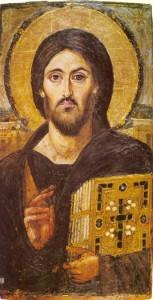 Christ Pantokrator monastère Sinaï 6ème siècle | DR