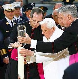 Benoît XVI à Ground Zero