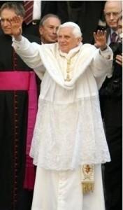 Benoît XVI à St Patrick | DR