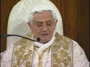 Benoit XVI Basilique de l\'Immaculée Conception Washington