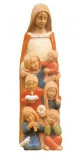 Sculpture bois polychrome Yves Le Pape | DR