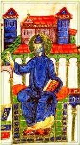 saint Benoit enluminure | DR
