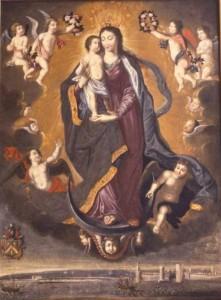 Nostre Dame du Port de Salut ex-voto donné par Richard Butler 1664 cathédrale St Louis La Rochelle | DR
