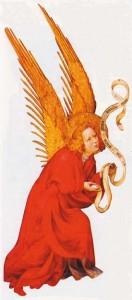 Melchior Broederlam détail de l'Annonciation musée des Beaux-Arts Dijon | DR