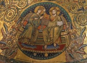 mosaïque abside de Sainte Marie Majeure
