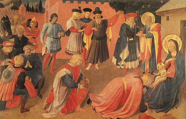 Fra Angelico - L'adoration des Mages - Museo di San Marco Florence