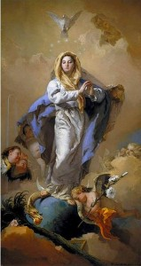 L'Immaculée Conception - Giambatista Tiepolo - 1768 Prado Madrid | DR