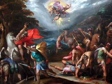 La conversion de saint Paul sur le chemin de Damas - Hans Speckaert XVIe siècle | DR