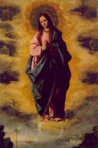 Zurbaran Immaculée Conception 1630-35, huile sur canevas, 139 x 104 cm; Musée du Prado, Madrid | DR