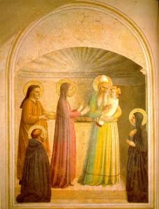 La Présentation Fra Angelico couvent San Marco Florence