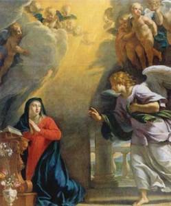 Annonciation - Philippe de Champaigne - Musée des Beaux-Arts de Caen