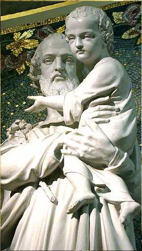 Saint Joseph Chapelle Note-Dame de la Médaille Miraculeuse Paris