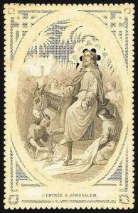 « Venez, gravissons ensemble le mont des Oliviers ! Allons à la rencontre du Christ. Il revient aujourd'hui de Béthanie et Il s'avance de son plein gré vers Sa Sainte et Bienheureuse Passion, afin de mener à son terme le mystère de notre salut » (Homélie de Saint André de Crète, moine et évêque - 660-740)