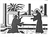 Jésus ressuscité et Marie sa mère