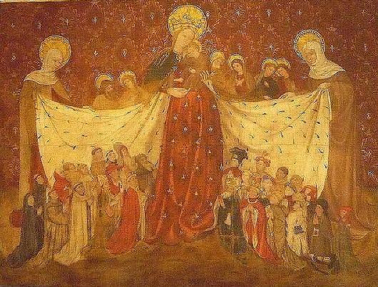 Vierge au manteau - Le Puy-en-Velay, 1417 Musée Crozatier.
