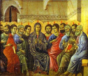 Duccio di Buoninsegna Pentecôte