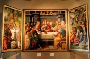 Retable de l'Eucharistie musée Rolin Autun 1515 | DR