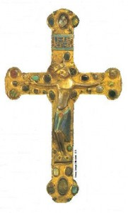 Croix Emaux Limoges XIIIe siecle