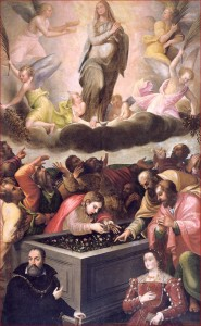 Ghisoni - Assomption (1556), retable, Santa Maria delle Grazie, Curtatone