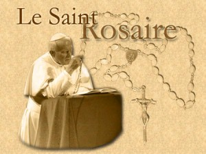 Rosaire - Jean-Paul II Vatican | DR