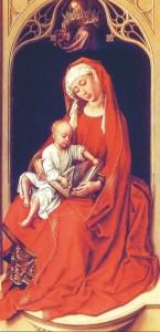Vierge de Duran Roger van der Wieden Prado Madrid