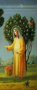 Vierge Marie Christophore
