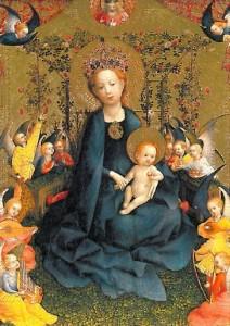 La Vierge à la treille de roses - Stephan Lochner - Walraf-Richahartz Museum Cologne