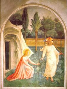 Apparition de Jésus Ressuscité - Fra Angelico - couvent San Marco Florence