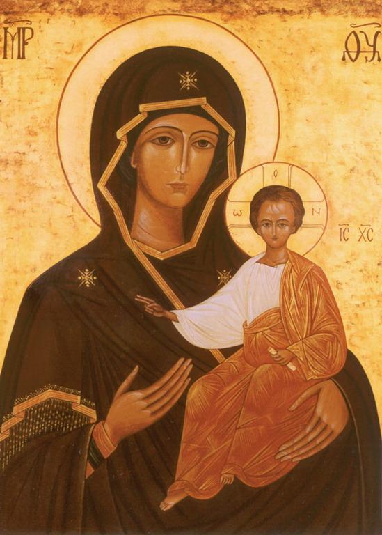 icône monastère de l'Emmanuel Bethléem