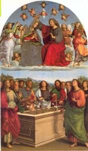 Le couronnement de la Vierge - Raphaël - Pinacothèque Vaticane