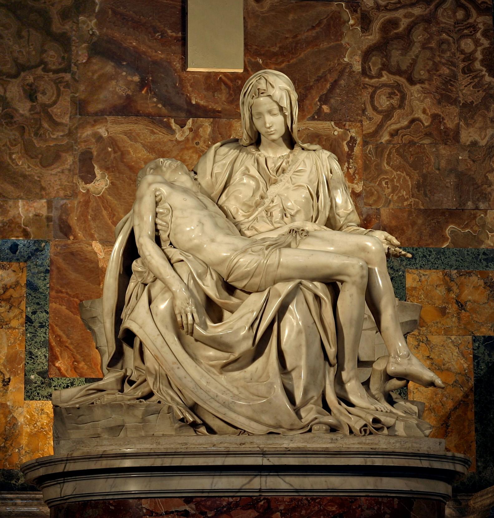 Pieta de Michel-Ange - Basilique du Vatican