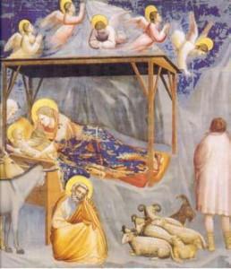 La Nativité Giotto - 1267-1337 - fresque église de l'Arena - Padoue