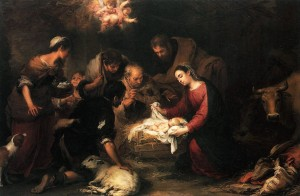 MURILLO-Bartolome-Esteban-Adoration-des-bergers | DR