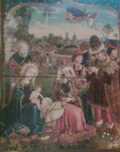 Adoration des Mages - imitation de Véronèse XVIe siècle - église Notre-Dame Montluçon