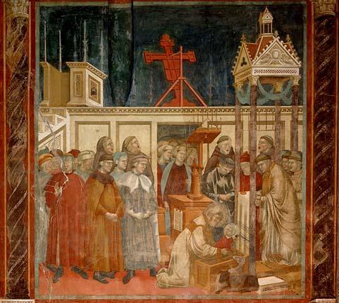 Giotto - François d'Assise invente la crèche de Noël