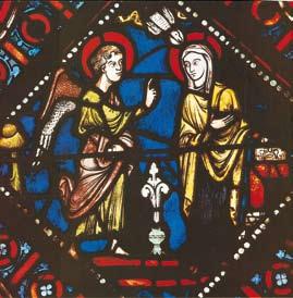 L'Annonciation cathédrale de Beauvais XIIIe siècle|DR