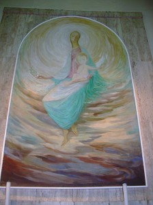 la Mère de Jésus - une église de Syracuse