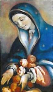 Notre Dame de Guadalupe - motif