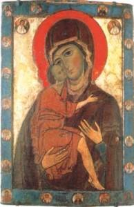 La Vierge de Tendresse, icône du XIIIe siècle
