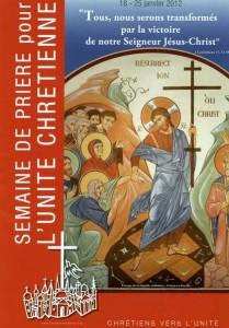 Semaine de l'unité chrétienne 2012